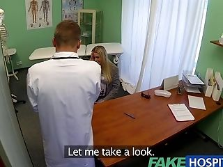 Fakehospital Dizzy Blonde Takes A Internal Cumshot