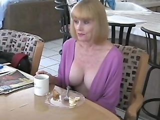 Beautiful Cougar Loves The Orgy. Her Name Is Sexy Melanie.