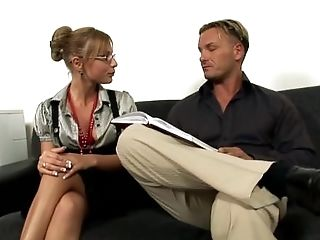 German Assistant Jennifer Love Loves To Fuck Anal Invasion