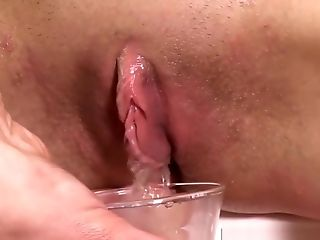 Perky Peach Blondes Piss And Vag Pump