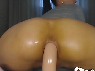 Exotic Neighbor Likes To Have Fun With A Fuck Stick