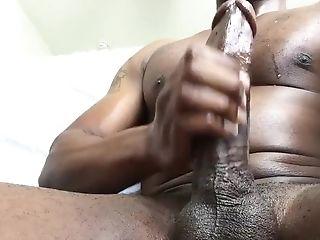 Thick Manstick Masturbating