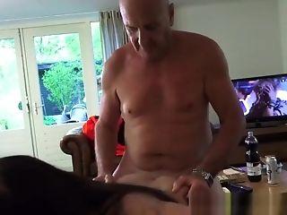 Sexy Teenage Kitina Take An Old Woo