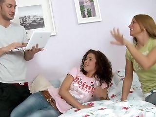 Fabulous Superstars Black Tina And Megan Vale In Horny School, Facial Cumshot Adult Scene