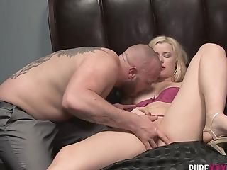 Horny Pornographic Star Charlyse Bella In Best Blonde Xxx Scene