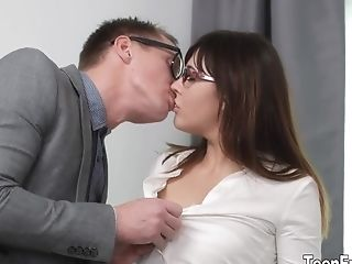 Youthfull Damsel Katty Blessed Fucked And Jism On Face