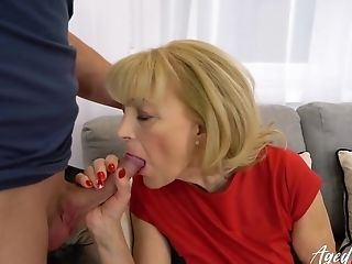 Agedlove Blonde Matures Fucked Hard By Youngster