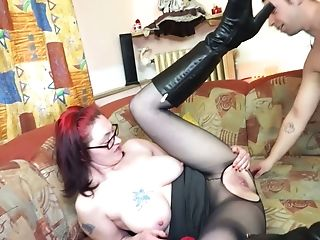 Fairly Ordinary And A Bit Round German Michael Gets Her Twat Fucked Mish