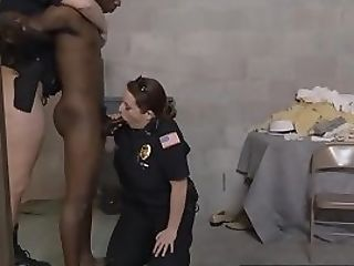 Lounging Pimp Is Taken To Perverted Mummy Cops Spot For A Hot Banging