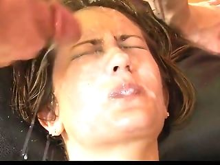 Facial Cumshot Abjection 1