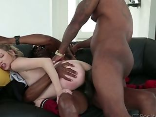 Angel Smalls Is A Milky Cutie Whose Appetite For Interracial Fucky-fucky Is Strong