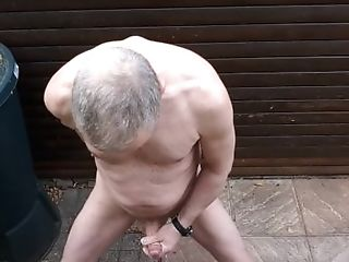 Solowank Jizz Flow Exhibitionist Public Outdoor Lad Slowmotion Jizz Flow