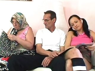 Dirty Granny Loves To Observe Her Spouse While He Fucks A Junior Beauty