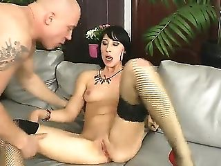 Annie Rose Gets The Whore Treatment For The First-ever Time, Having Her Arse Spread More Than She Thought Possible