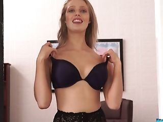 Sexy Assistant Jayne Shows Off Her Tits And Yummy Booty In The Office